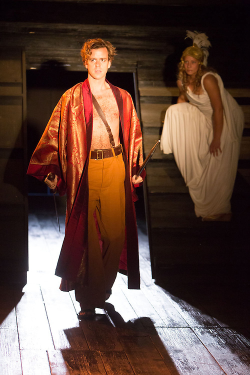 Royal Exchange Theatre production of The Last Days of Troy by Simon Armitage, directed by Nick Bagnall. Cast: Gillian Bevan, David Birrell, Richard Bremmer, Clare Calbraith, Lily Cole, Garry Cooper, Jake Fairbrother, Simon Harrison, Brendan O'Hea, Tom Stuart, Colin Tierney, Francesca Zoutewelle