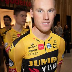 10-12-2019: Wielrennen: Teampresentatie Jumbo Visma: Amsterdam<br />Mike Teunissen