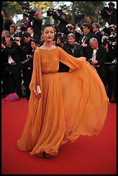 Du Juan attends the premiere of 'Madagascar 3: Europe's Most Wanted' during the 65th Cannes Film Festival, Friday May 18, 2012. Photo by Andrew Parsons/i-Images.