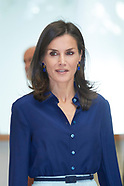 090519 Queen Letizia attends Presidency the '3rd Conference on Informative Treatment of Disability'