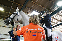 Van De Sande Petra (NED) - Toscane, Janssen Ineke (NED), Vlieland Erik (NED)<br /> Alltech FEI World Equestrian Games <br /> Lexington - Kentucky 2010<br /> © Hippo Foto - Leanjo de Koster