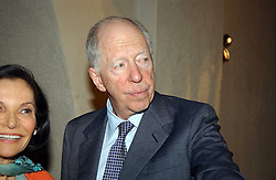 LORD ROTHSCHILD at a reception to view the newly opened exhibition 'Masterpieces of American Jewellery' at The Gilbert Collection, Somerset House, London on 14th February 2005.<br />
