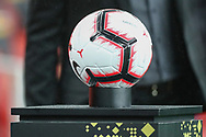 The match ball during the Friendly International match between Brazil and Uruguay at the Emirates Stadium, London, England on 16 November 2018.