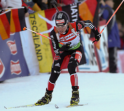 16.01.2011, Chiemgau Arena, Ruhpolding, GER, IBU Biathlon Worldcup, Ruhpolding, Pursuit Women, im Bild Andrea HENKEL (GER) // Andrea HENKEL (GER) during IBU Biathlon World Cup in Ruhpolding, Germany, EXPA Pictures © 2011, PhotoCredit: EXPA/ S. Kiesewetter