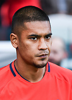 Alphonse Areola of PSG during the Ligue 1 match between Paris Saint Germain and FC Girondins de Bordeaux at Parc des Princes on September 30, 2017 in Paris, . (Photo by Anthony Dibon/Icon Sport)