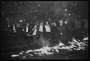 Burning Boat, Oriel College, Oxford, 1984, Oxford: The Last Hurrah. Negative scans.