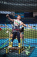 20160913 Copyright onEdition 2016©<br /> Free for editorial use image, please credit: onEdition<br /> <br /> Field athlete Stephen Miller (Club Throw F32 - Men) from Newcastle upon Tyne, wins a bronze medal competing for ParalympicsGB at the Rio Paralympic Games 2016.<br />  <br /> ParalympicsGB is the name for the Great Britain and Northern Ireland Paralympic Team that competes at the summer and winter Paralympic Games. The Team is selected and managed by the British Paralympic Association, in conjunction with the national governing bodies, and is made up of the best sportsmen and women who compete in the 22 summer and 4 winter sports on the Paralympic Programme.<br /> <br /> For additional Images please visit: http://www.w-w-i.com/paralympicsgb_2016/<br /> <br /> For more information please contact the press office via press@paralympics.org.uk or on +44 (0) 7717 587 055<br /> <br /> If you require a higher resolution image or you have any other onEdition photographic enquiries, please contact onEdition on 0845 900 2 900 or email info@onEdition.com<br /> This image is copyright onEdition 2016©.<br /> <br /> This image has been supplied by onEdition and must be credited onEdition. The author is asserting his full Moral rights in relation to the publication of this image. Rights for onward transmission of any image or file is not granted or implied. Changing or deleting Copyright information is illegal as specified in the Copyright, Design and Patents Act 1988. If you are in any way unsure of your right to publish this image please contact onEdition on 0845 900 2 900 or email info@onEdition.com