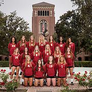 Women's Volleyball Team Photo Day