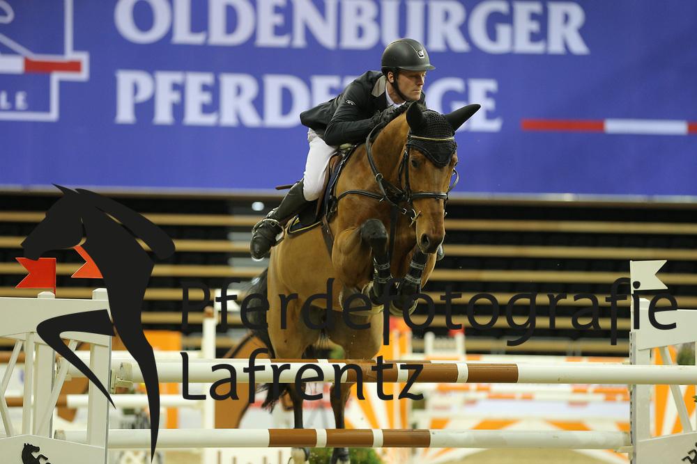 Karshüning, Sebastian Taquila<br /> Oldenburg - Oldenburger Pferdetage 2013<br /> Internationales Springen<br /> © www.sportfotos-lafrentz.de / Stefan Lafrentz