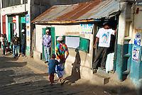 Madagascar. Antananarivo (Tananarive). La ville Haute. // Madagascar. Antananarivo (Tananarive). The high city.