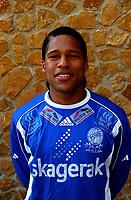 Olof Hvidén-Watson, Pors portretter 2005. <br /> Portretter 1. divisjon 2005. La Manga 2005. 24. mars 2005. (Foto: Peter Tubaas/Digitalsport).