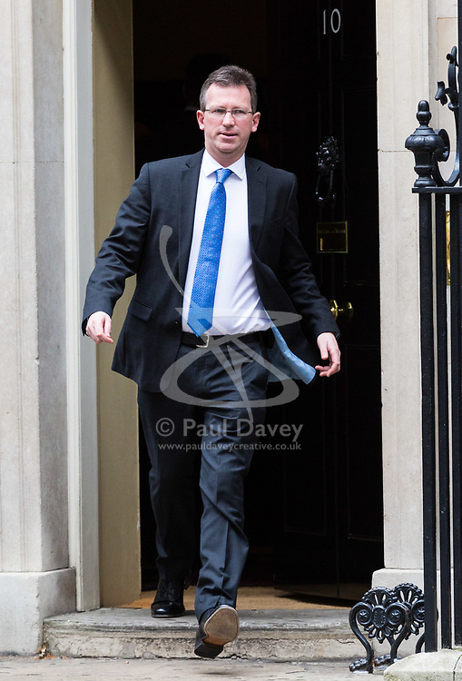 London, October 10 2017. Attorney General Jeremy Wright attends the UK cabinet meeting at Downing Street. © Paul Davey
