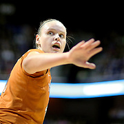 UNCASVILLE, CONNECTICUT- DECEMBER 4: Kelsey Lang #40 of the Texas Longhorns in action during the UConn Huskies Vs Texas Longhorns, NCAA Women's Basketball game in the Jimmy V Classic on December 4th, 2016 at the Mohegan Sun Arena, Uncasville, Connecticut. (Photo by Tim Clayton/Corbis via Getty Images)