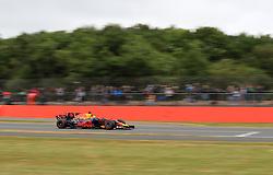 Red Bull Racing's Daniel Ricciardo during third practice of the 2017 British Grand Prix at Silverstone Circuit, Towcester.