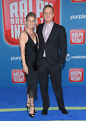 November 5, 2018 - Hollywood, California, U.S. - Alan Tudyk and Charissa Barton arrives for the 'Ralph Breaks the Internet' World Premiere at the El Capitan theater. (Credit Image: © Lisa O'Connor/ZUMA Wire)