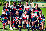 All Blacks 7's squad during training.<br /> 1996 Hong Kong 7's - World Rugby Sevens Series in Hong Kong held on 29th - 31st March 1996.<br /> Copyright photo: Andrew Cornaga / www.photosport.co.nz