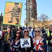 Parliament Square BREXIT RALLY