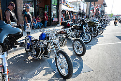 Honda CB-750 customs on Main Street during the Sturgis Motorcycle Rally. SD, USA. Saturday, August 14, 2021. Photography ©2021 Michael Lichter.Raven Rose Whitman at the Sturgis Motorcycle Rally. SD, USA. Saturday, August 14, 2021. Photography ©2021 Michael Lichter.