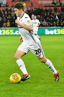Football - 2018 / 2019 Championship - Swansea City vs Aston Villa<br /> … at the Liberty Stadium.<br /> <br /> Daniel James of Swansea City on the attack<br /> <br /> Credit: COLORSPORT/Winston Bynorth
