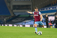 Football - 2020 / 2021 League (Carabao) Cup - Round 4 - Everton vs West Ham United - Goodison Park<br /> <br /> West Ham United's Aaron Cresswell in action during todays match  <br /> <br /> COLORSPORT/TERRY DONNELLY