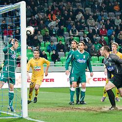 20110312: SLO, Football - PrvaLiga, NK Olimpija vs NK Maribor
