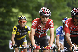 July 8, 2017 - Station Des Rousses, FRANCE - Belgian Thomas De Gendt of Lotto Soudal pictured in action during the eighth stage of the 104th edition of the Tour de France cycling race, 187,5km from Dole to Station des Rousses, France, Saturday 08 July 2017. This year's Tour de France takes place from July first to July 23rd...BELGA PHOTO YORICK JANSENS (Credit Image: © Yorick Jansens/Belga via ZUMA Press)