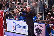 DESCRIZIONE : Trento Lega A 2015-16 Dolomiti Energia Trentino - Consultinvest Pesaro<br /> GIOCATORE : Riccardo Paolini<br /> CATEGORIA : Schema<br /> SQUADRA : Dolomiti Energia Trentino - Consultinvest Pesaro<br /> EVENTO : Campionato Lega A 2015-2016 <br /> GARA : Dolomiti Energia Trentino - Consultinvest Pesaro<br /> DATA : 08/11/2015 <br /> SPORT : Pallacanestro <br /> AUTORE : Agenzia Ciamillo-Castoria/Giulio Ciamillo<br /> Galleria : Lega Basket A 2015-2016 <br /> Fotonotizia : Trento Lega A 2015-16 Dolomiti Energia Trentino - Consultinvest Pesaro