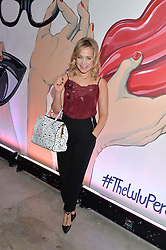 POPPY JAMIE at the launch of The Lulu Perspective to celebrate 25 years of Lulu Guinness held at 74a Newman Street, London on 13th September 2014.