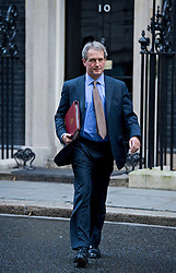 © London News Pictures. 30/10/2012. London, UK.   Secretary of State for Environment Owen Paterson MP Leaving 10 Downing street after a cabinet meeting on October 10, 2012. Photo credit: Ben Cawthra/LNP