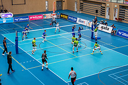 No spectators during the supercup final between Amysoft Lycurgus - Active Living Orion on October 04, 2020 in Van der Knaaphal, Ede