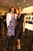 Diane von Furstenberg and Jade Jagger, Diane von Furstenberg shop opening, Ledbury Rd. 21 September 2003. © Copyright Photograph by Dafydd Jones 66 Stockwell Park Rd. London SW9 0DA Tel 020 7733 0108 www.dafjones.com
