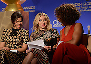 73rd Annual Golden Globe Awards Nominations<br /> <br /> AMERICA FERRERA + CHLOE GRACE MORETZ + ANGELA BASSETT  at the 73rd Annual Golden Globe Awards Nominations held @ the Beverly Hilton hotel. December 10, 2015<br /> ©Exclusivepix Media