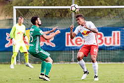 28.06.2017, Steinbergstadion, Leogang, AUT, Testspiel, FC Red Bull Salzburg vs FC Akhmat Grozny, im Bild Magomed Mitrishev (Grozny), Igor (RBS) // during the friendly football match between FC Red Bull Salzburg and FC Akhmat Grozny at the Steinbergstadion, Leogang, Austria on 2017/06/28. EXPA Pictures © 2017, PhotoCredit: EXPA/ Johann Groder