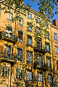 Apartment building, Lyon, France (UNESCO World Heritage Site)