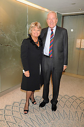 JUDITH CHALMERS and NEIL DURDEN-SMITH at a tribute lunch in honour of Michael Aspel hosted by The Lady Taverners at The Dorchester, Park Lane, London on 14th November 2008.