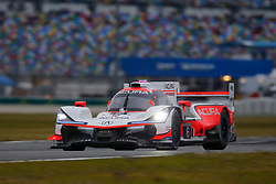 January 26, 2019 - Daytona, FL, U.S. - DAYTONA, FL - JANUARY 26: The #6 Acura Team Penske Acura DPi of Juan Pablo Montoya, Dane Cameron, and Simon Pagenaud during the Rolex 24 at Daytona on January 26, 2019 at Daytona International Speedway in Daytona Beach, Fl. (Photo by David Rosenblum/Icon Sportswire) (Credit Image: © David Rosenblum/Icon SMI via ZUMA Press)