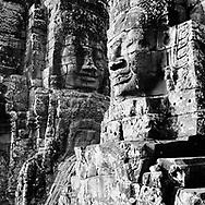 Visages - Temple du Bayon, Cambodge, 2007