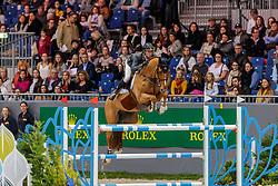 SMITH Spencer (USA), Theodore Manciais<br /> Genf - CHI Geneve Rolex Grand Slam 2019<br /> Prix des Vins de Genève<br /> Internationales Springen Fehler/Zeit<br /> International Jumping Competition 1m45<br /> Table A: Against the Clock<br /> 12. Dezember 2019<br /> © www.sportfotos-lafrentz.de/Stefan Lafrentz