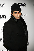 """Zac Posen at the cocktail party celebrating Sean """"Diddy"""" Combs appearance on the """" Black on Black """" cover of L'Uomo Vogue's October Music Issue"""