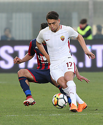 March 18, 2018 - Crotone, KR, Italy - CENGIZ UNDER of Roma during the serie A match between FC Crotone and AS Roma at Stadio Comunale Ezio Scida on March 18, 2018 in Crotone, Italy. (Credit Image: © Gabriele Maricchiolo/NurPhoto via ZUMA Press)