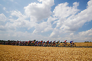 Illustration peloton, Scenery, during the 105th Tour de France 2018, Stage 8, Dreux - Amiens Metropole (181km) on July 14th, 2018 - Photo Luca Bettini / BettiniPhoto / ProSportsImages / DPPI