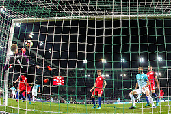 Joe Hart of England during football match between National teams of Slovenia and England in Round #3 of FIFA World Cup Russia 2018 Qualifier Group F, on October 11, 2016 in SRC Stozice, Ljubljana, Slovenia. Photo by Gregor Valancic / Sportida