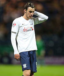 Will Keane of Preston North End  - Mandatory byline: Matt McNulty/JMP - 07966386802 - 22/09/2015 - FOOTBALL - Deepdale Stadium -Preston,England - Preston North End v Bournemouth - Capital One Cup - Third Round