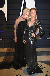 Annie Maude Starke and Glenn Close attending the 2019 Vanity Fair Oscar Party hosted by editor Radhika Jones held at the Wallis Annenberg Center for the Performing Arts on February 24, 2019 in Los Angeles, CA, USA. Photo by David Niviere/ABACAPRESS.COM