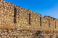 Shusha castle  landmark of Artsakh Nagorno-Karabakh Armenia eastern Europe