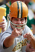 A Green Bay Packers fan. (Photo © Andy Manis)