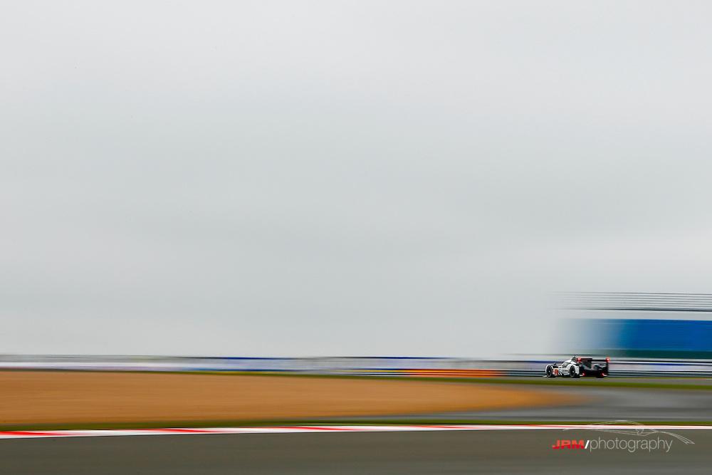 Porsche's 919 LMP1-H at the FIA WEC 6 Hours of Silverstone