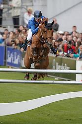 Ahlmann Christian, (GER), Epleaser van T Heike<br /> Winning Round<br /> Weltfest des Pferdesports Aachen 2015<br /> © Hippo Foto - Dirk Caremans<br /> 30/05/15