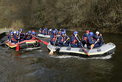 March 14, 2018 - Rendeux, Belgique - illustration rafting  pictured during the team building of Rsc Anderlecht in Rendeux , Belgium. ***RENDEUX, BELGIUM - March 14, 2018 EXCLUSIF (Credit Image: © Panoramic via ZUMA Press)