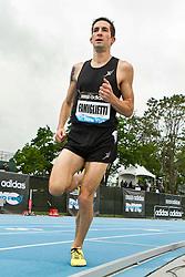 adidas Grand Prix Diamond League professional track & field meet: mens 5000 meters, Anthony FAMIGLIETTI, USA